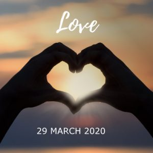 Love - heart hands
